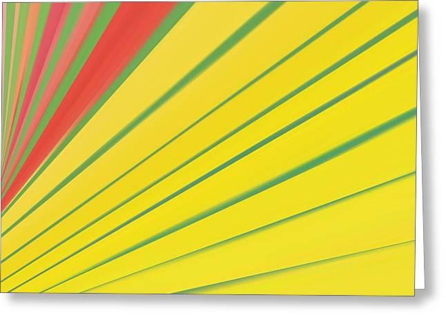 Abstract Digital Digital Greeting Cards - Abstract 4 Greeting Card by Sheela Ajith