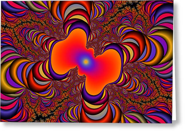 Abstract 41 Greeting Card by Rolf Bertram