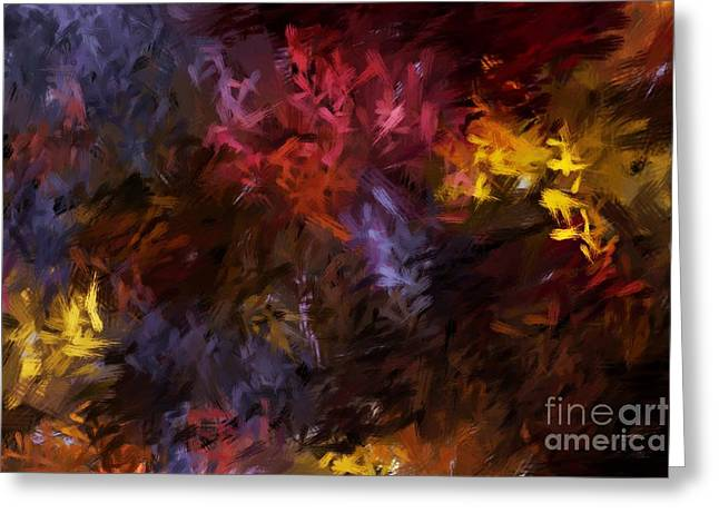 Abstract Digital Greeting Cards - Abstract 5-23-09 Greeting Card by David Lane