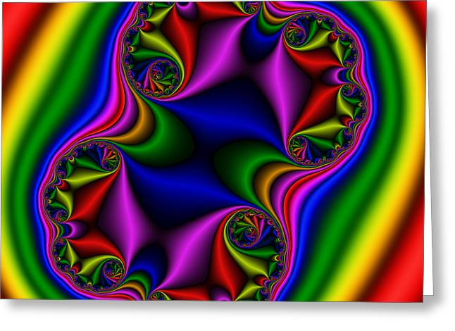 Abstract 517 Greeting Card by Rolf Bertram