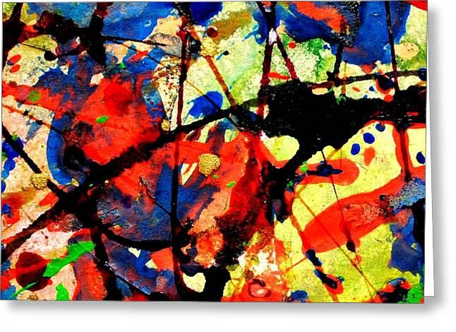 Abstract 52 Greeting Card by John  Nolan