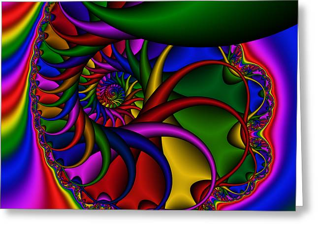 Abstract 529 Greeting Card by Rolf Bertram