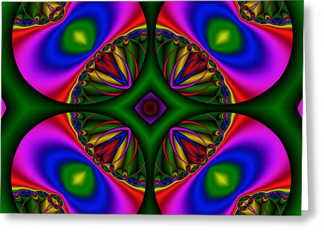 Abstract 606 Greeting Card by Rolf Bertram