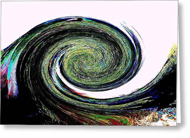 Abstract Movement Greeting Cards - Abstract 7 Greeting Card by Kristalin Davis