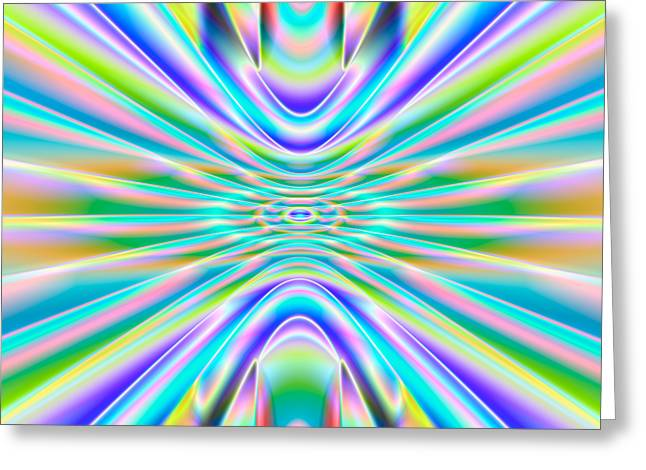 Abstract 718 Greeting Card by Rolf Bertram