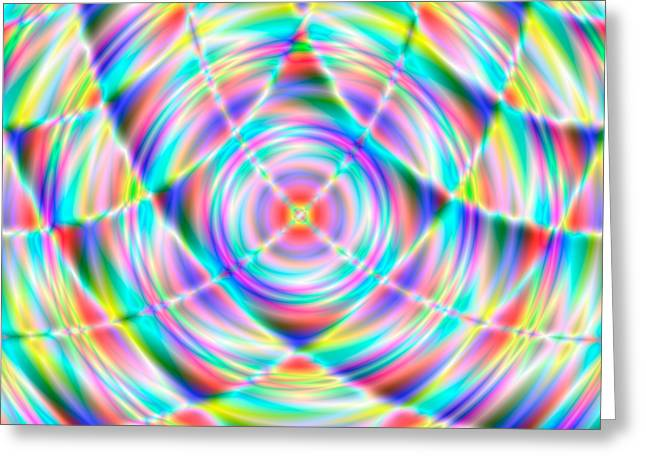 Abstract 722 Greeting Card by Rolf Bertram
