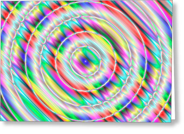 Abstract 732 Greeting Card by Rolf Bertram
