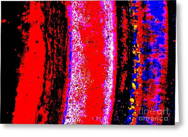 Abstract  Abstraction Greeting Card by Tim Townsend