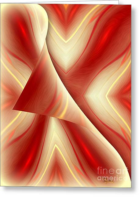 Abstract Art - The Truth About The Truth By Rgiada Greeting Card by Giada Rossi