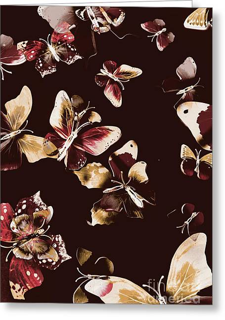 Abstract Butterfly Fine Art Greeting Card by Jorgo Photography - Wall Art Gallery