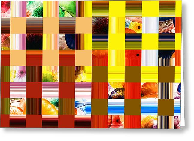 Patterned Greeting Cards - Abstract by Photoshop 30 Greeting Card by Allen Beatty