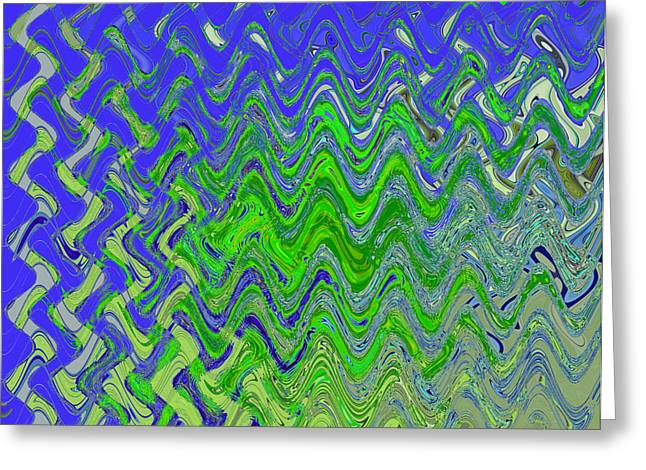 Purchase Greeting Cards - Abstract by Photoshop 50 Greeting Card by Allen Beatty