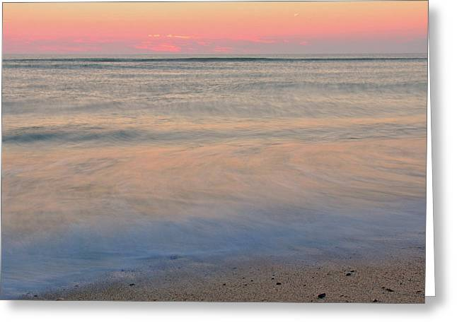 Abstract Seascape Greeting Cards - Abstract Cape Cod Greeting Card by Juergen Roth