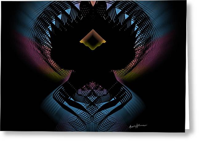 Abstract Design 5 Greeting Card by Anthony Caruso