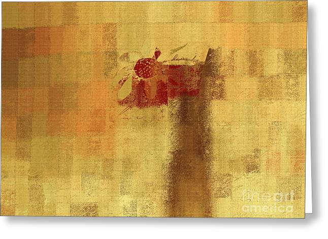 Abstract Floral - 14v2ft Greeting Card by Variance Collections