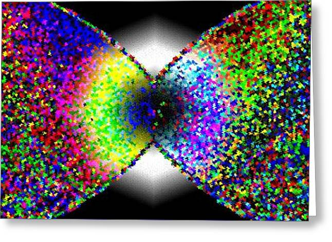 Abstract Digital Digital Greeting Cards - Abstract Fusion 264 Greeting Card by Will Borden