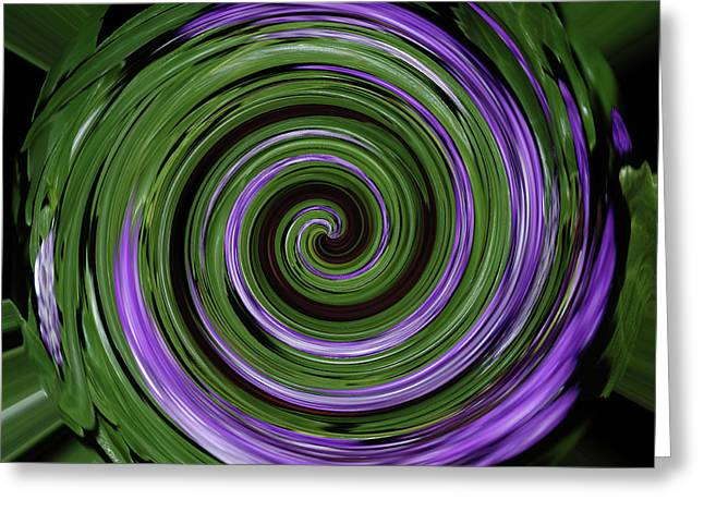 Abstract Digital Greeting Cards - Abstract I Greeting Card by DigiArt Diaries by Vicky B Fuller