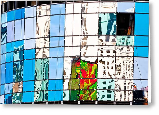 Ocular Perceptions Greeting Cards - Abstract In The Windows Greeting Card by Christopher Holmes