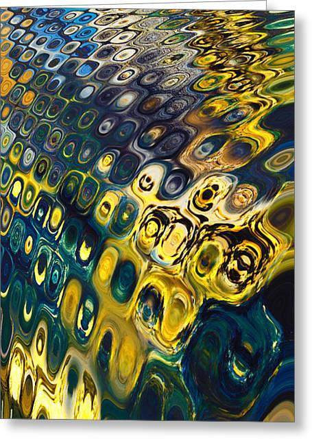 Boundless Greeting Cards - Abstract-Infinity Greeting Card by Patricia Motley