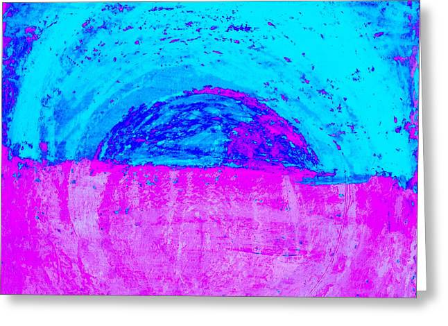 Great Void Greeting Cards - Abstract No 27 Greeting Card by Radu Gavrila