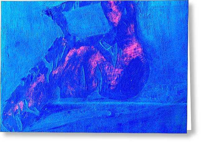 Just Cause Greeting Cards - Abstract No 32 Greeting Card by Radu Gavrila