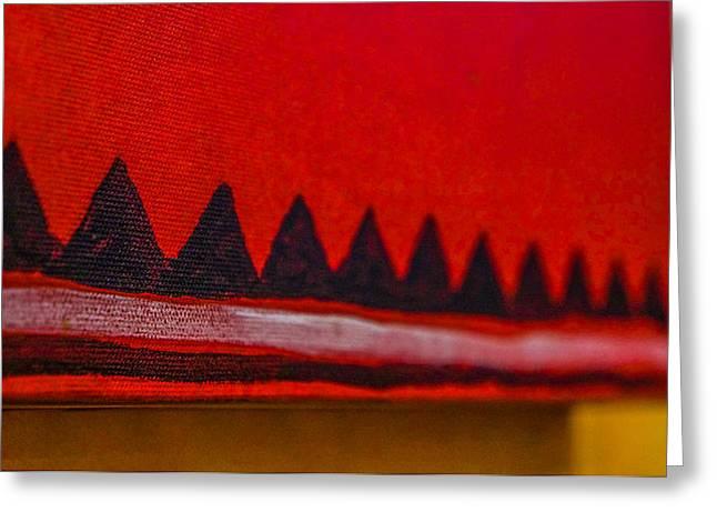 York Beach Greeting Cards - Abstract No.2 Greeting Card by Keegan Hall