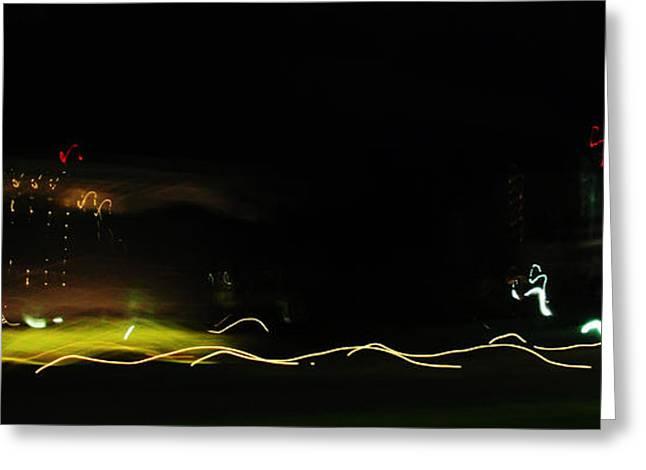 Abstract Digital Photographs Greeting Cards - Abstract No.5 Greeting Card by Mic DBernardo