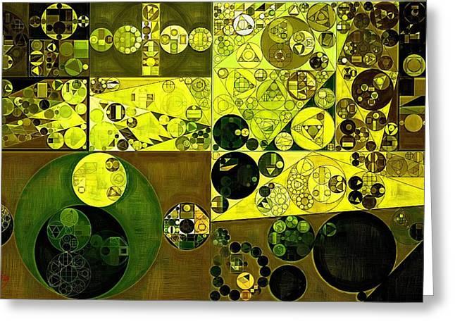 Abstract Painting - Costa Del Sol Greeting Card by Vitaliy Gladkiy