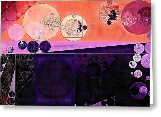 Abstract Painting - Fuzzy Wuzzy Greeting Card by Vitaliy Gladkiy