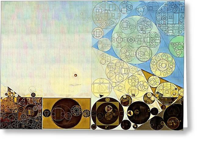 Abstract Painting - Gin Greeting Card by Vitaliy Gladkiy