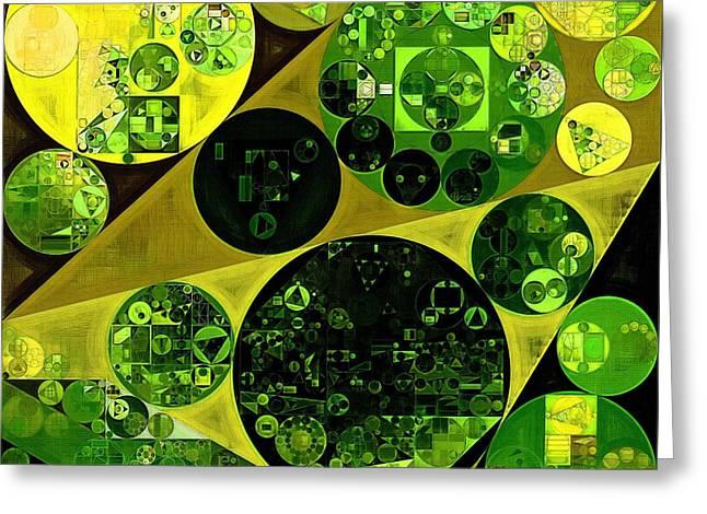 Abstract Painting - Las Palmas Greeting Card by Vitaliy Gladkiy