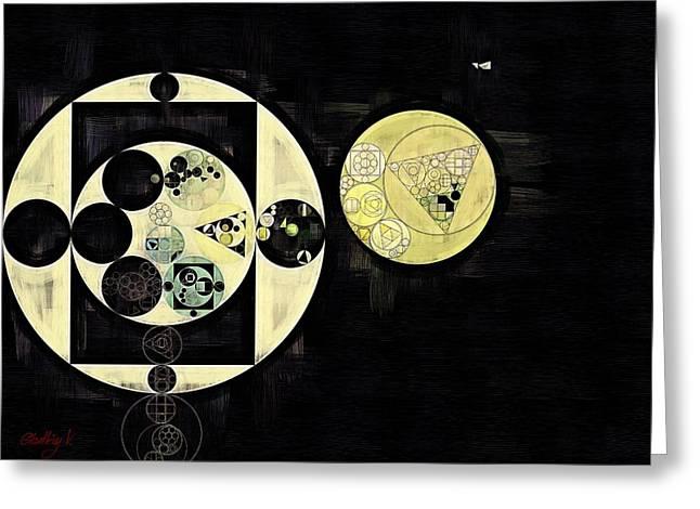 Abstract Painting - Mint Julep Greeting Card by Vitaliy Gladkiy