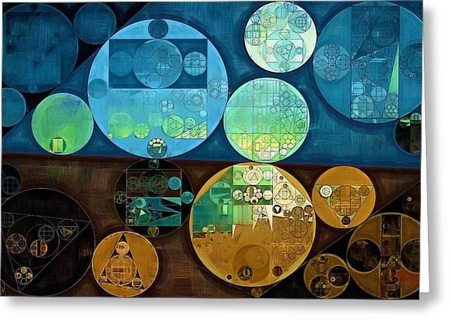 Abstract Painting - Monte Carlo Greeting Card by Vitaliy Gladkiy