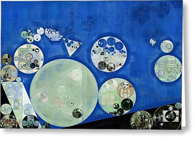 Abstract Painting - Rainee Greeting Card by Vitaliy Gladkiy