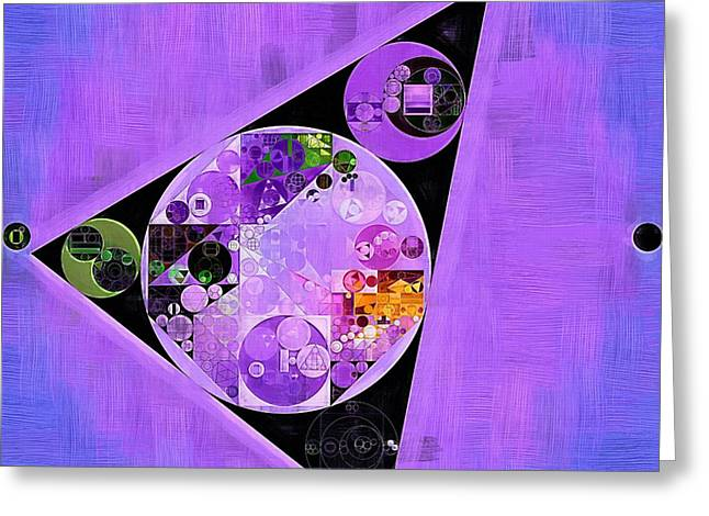 Abstract Painting - Slate Blue Greeting Card by Vitaliy Gladkiy