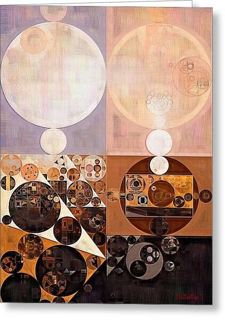 Abstract Painting - Zinnwaldite Greeting Card by Vitaliy Gladkiy