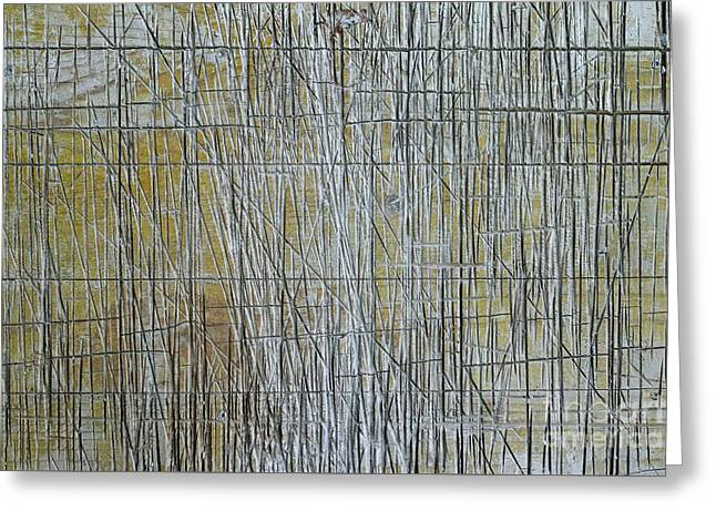 Abstract Reliefs Greeting Cards - Abstract pattern  Greeting Card by Dietmar Fink