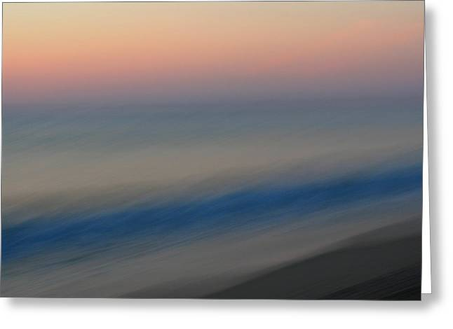 Abstract Seascape Greeting Cards - Abstract Seascape 1 Greeting Card by Juergen Roth