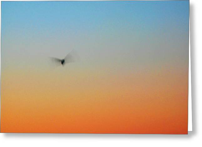 Abstract Seascape Greeting Cards - Abstract Skyscape Greeting Card by Juergen Roth