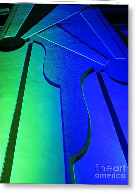 Photography Reliefs Greeting Cards - Abstract Two Greeting Card by John Malone