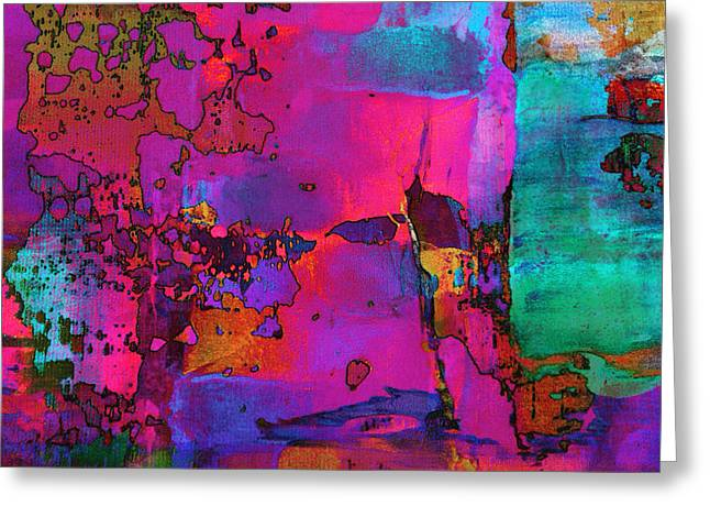 Abstractions Greeting Cards - Abstract97 Greeting Card by Ronaldo Weigand