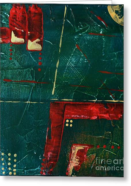 Subtle Colors Greeting Cards - Abstraction 847 - marucii Greeting Card by Marek Lutek