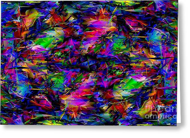 Subtle Colors Greeting Cards - Abstraction 951 - marucii Greeting Card by Marek Lutek