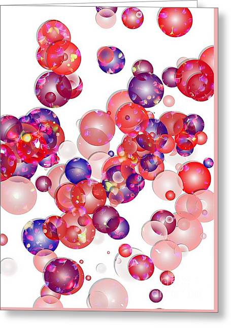 Subtle Colors Greeting Cards - Abstraction 953 - marucii Greeting Card by Marek Lutek