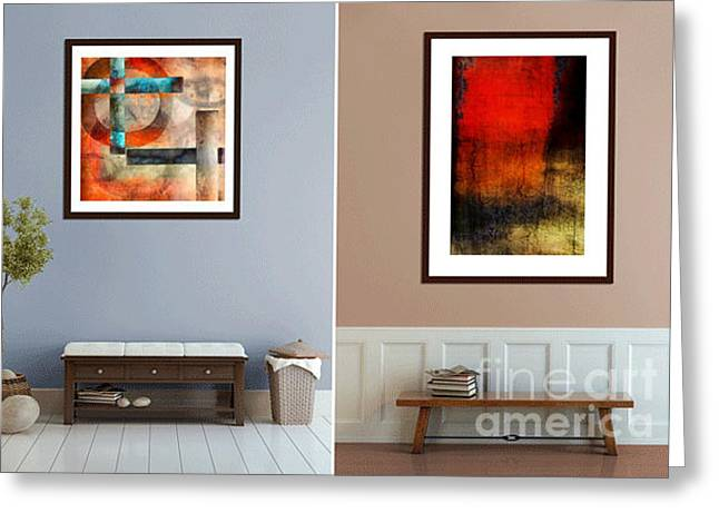 Photo-based Greeting Cards - Abstracts by Edward M. Fielding Greeting Card by Edward Fielding