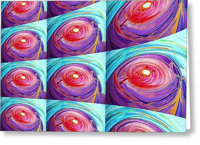 Best Sellers -  - Emergence Greeting Cards - Ac-02-02 Greeting Card by Lao Dan