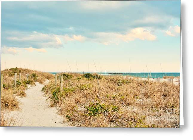 Kelly Greeting Cards - Access 42 Wrightsville Beach Greeting Card by Kelly Nowak