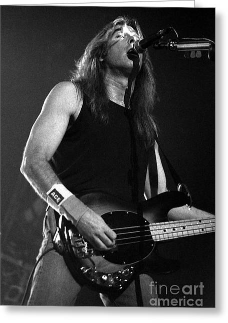 Malcolm Young Greeting Cards - ACDC-96-Cliff-0102 Greeting Card by Timothy Bischoff