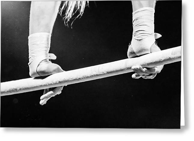 People Greeting Cards - Acrobat - 3 Greeting Card by Nicholas Evans