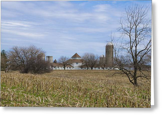 Across The Field - Norristown Farm Park  Greeting Card by Bill Cannon